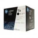 HP Q6511XD (HP 11XD) оригинальный лазерный картридж 2*12000 страниц, чёрный