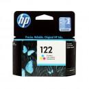HP CH562HE (HP 122 Color) оригинальный струйный картридж 100 страниц, цветной