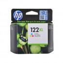 HP CH564HE (HP 122XL Color) оригинальный струйный картридж 330 страниц, цветной