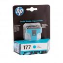 HP C8771HE (HP 177 Cyan) оригинальный струйный картридж 400 страниц, голубой