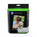 HP Q7967HE (HP 177 pack) оригинальный комплект картриджей См. цвета., комплект 6 цветный