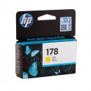 HP CB320HE (HP 178 Yellow) оригинальный струйный картридж 300 страниц, жёлтый