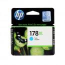 HP CB323HE (HP 178XL Cyan) оригинальный струйный картридж 750 страниц, голубой