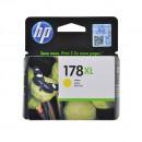 HP CB325HE (HP 178XL Yellow) оригинальный струйный картридж 750 страниц, жёлтый