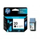 HP C6614DE (HP 20) оригинальный струйный картридж 325 страниц, чёрный