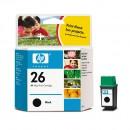 HP 51626AE (HP 26) оригинальный струйный картридж 800 страниц, чёрный