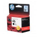 HP CZ637AE (HP 46 Black) оригинальный струйный картридж 1500 страниц, чёрный