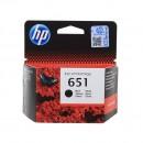 HP C2P10AE (HP 651 Black) оригинальный струйный картридж 600 страниц, чёрный