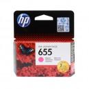 HP CZ111AE (HP 655 Magenta) оригинальный струйный картридж 600 страниц, пурпурный