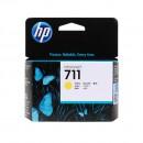 HP CZ132A (HP 711 Yellow) оригинальный струйный картридж 29 ml., жёлтый