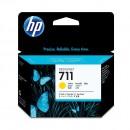 HP CZ136A (HP 711 Yellow) оригинальный струйный картридж 3*29 ml., жёлтый