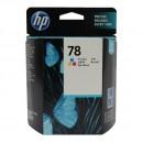 HP C6578AE (HP 78AE Color) оригинальный струйный картридж 1200 страниц, цветной
