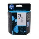 HP C6578DE (HP 78DE) оригинальный струйный картридж 560 страниц, цветной