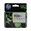 HP CD974AE (HP 920XL Yellow) оригинальный струйный картридж 700 страниц, жёлтый
