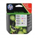 HP C2P42AE (HP 932XL + 933XL) оригинальный струйный картридж 1000 страниц чёрный, чёрный, голубой, жёлтый, пурпурный
