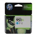 HP CN046AE (HP 951XL Cyan) оригинальный струйный картридж 1500 страниц, голубой