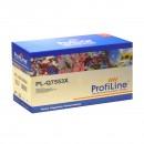 Profiline PL-Q7553X / 715 совместимый лазерный картридж 7000 страниц, чёрный