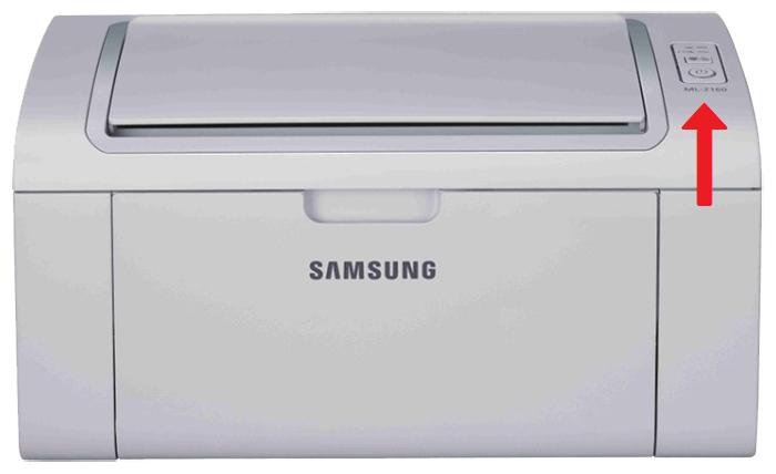 Samsung ML 2160 - место с указанием модели